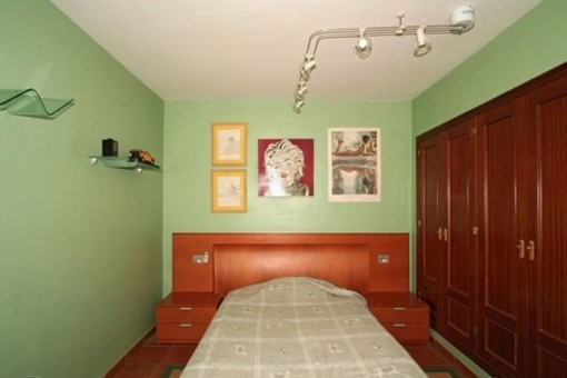 One out of 2 bedrooms