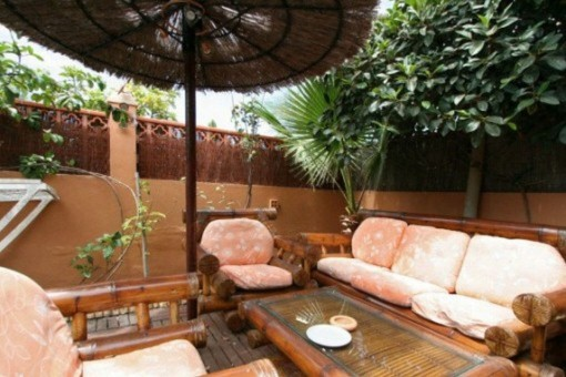 Lovely lounge area