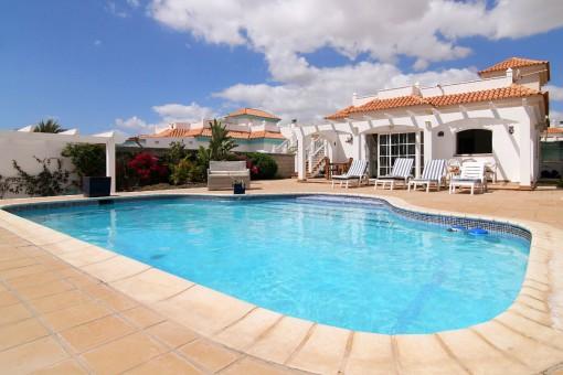 Good Villa In Caleta De Fuste
