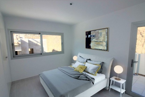 Additional bedroom with access to the terrace