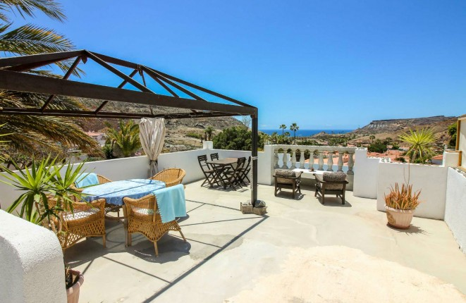 Exceptional villa with sea view and private pool in Tauro, Gran Canaria South
